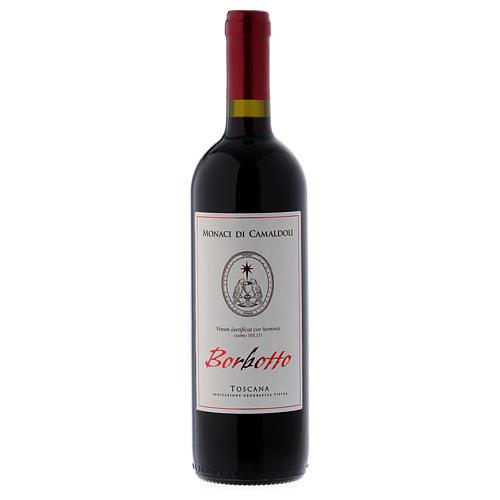 Vino rosso toscano Borbotto 750 ml. 2016 1