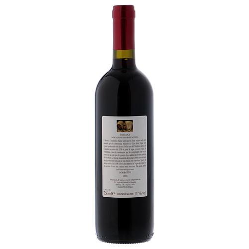 Camaldoli Bordotto red wine from Tuscany 750 ml 2016 2