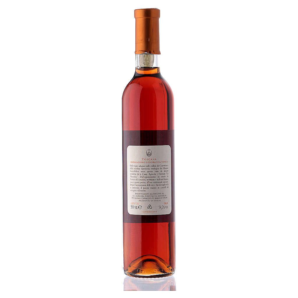 Wino słodkie toskańskie Borbotto 500 ml 3