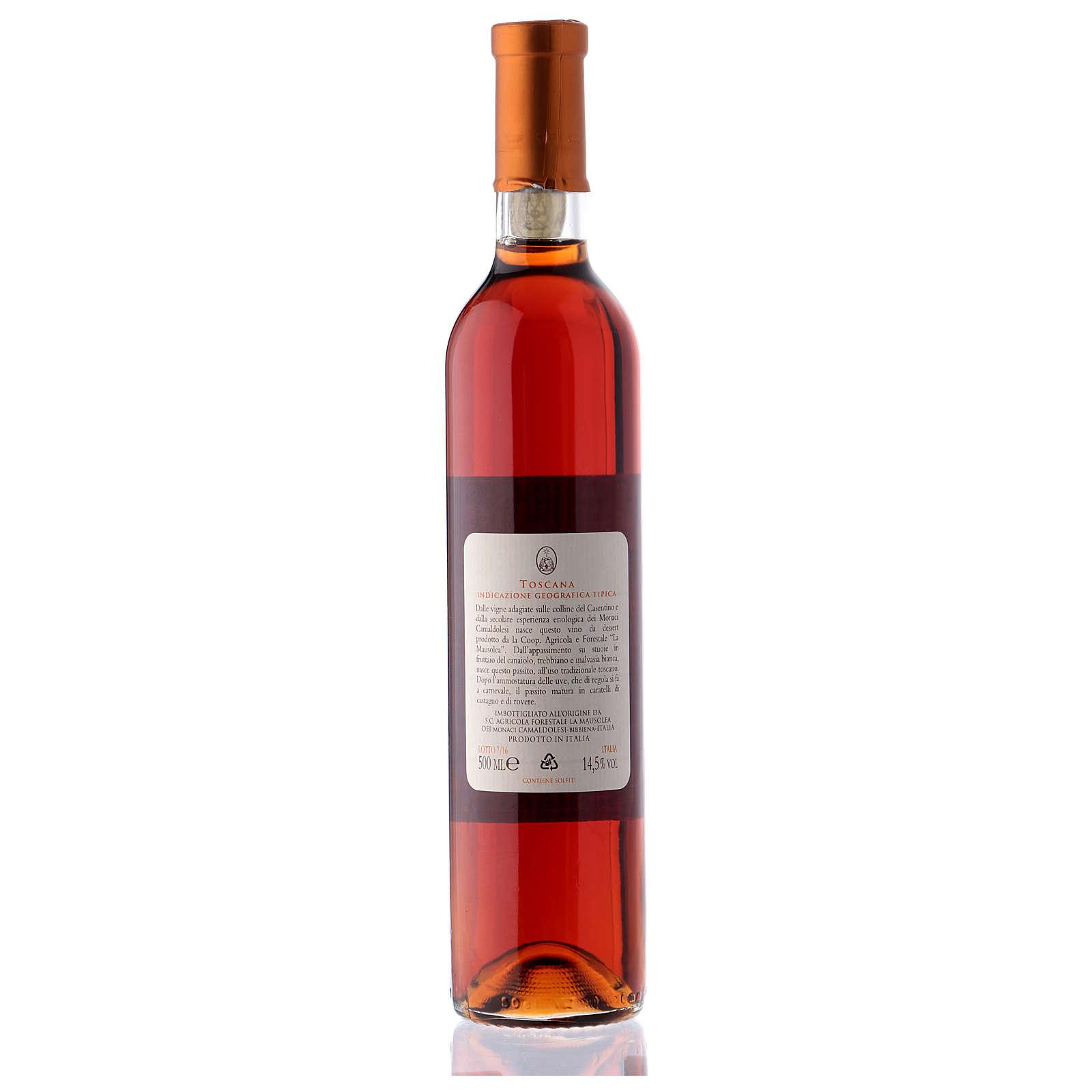 Vinho passito toscano Borbotto 500 ml 3