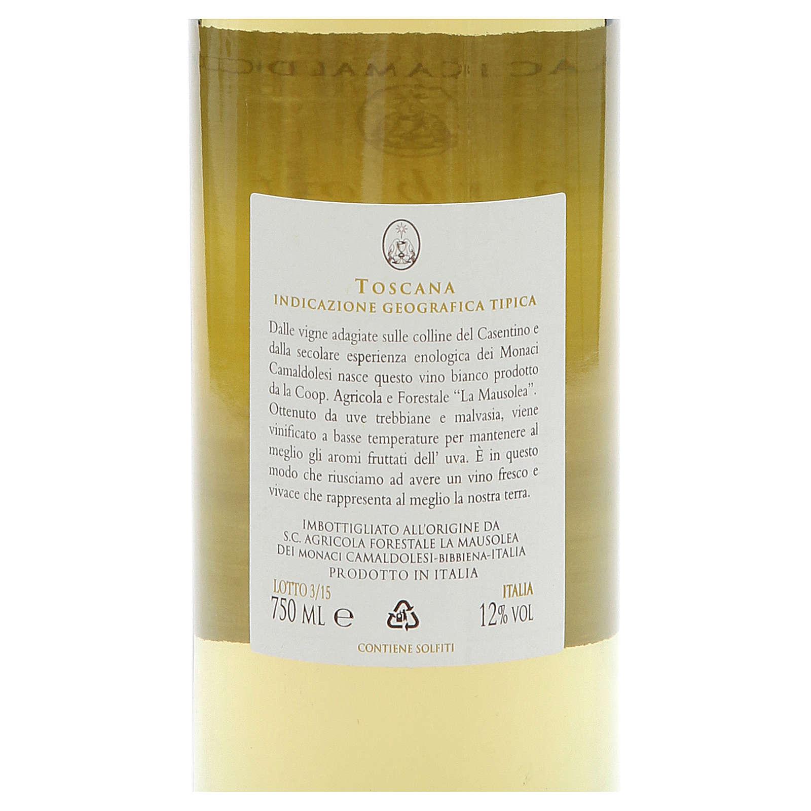 Vino bianco toscano Borbotto 750 ml. 2014 3