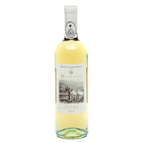 Vino bianco toscano Borbotto 750 ml. 2014 1