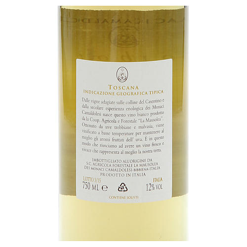 Vino bianco toscano Borbotto 750 ml. 2014 2