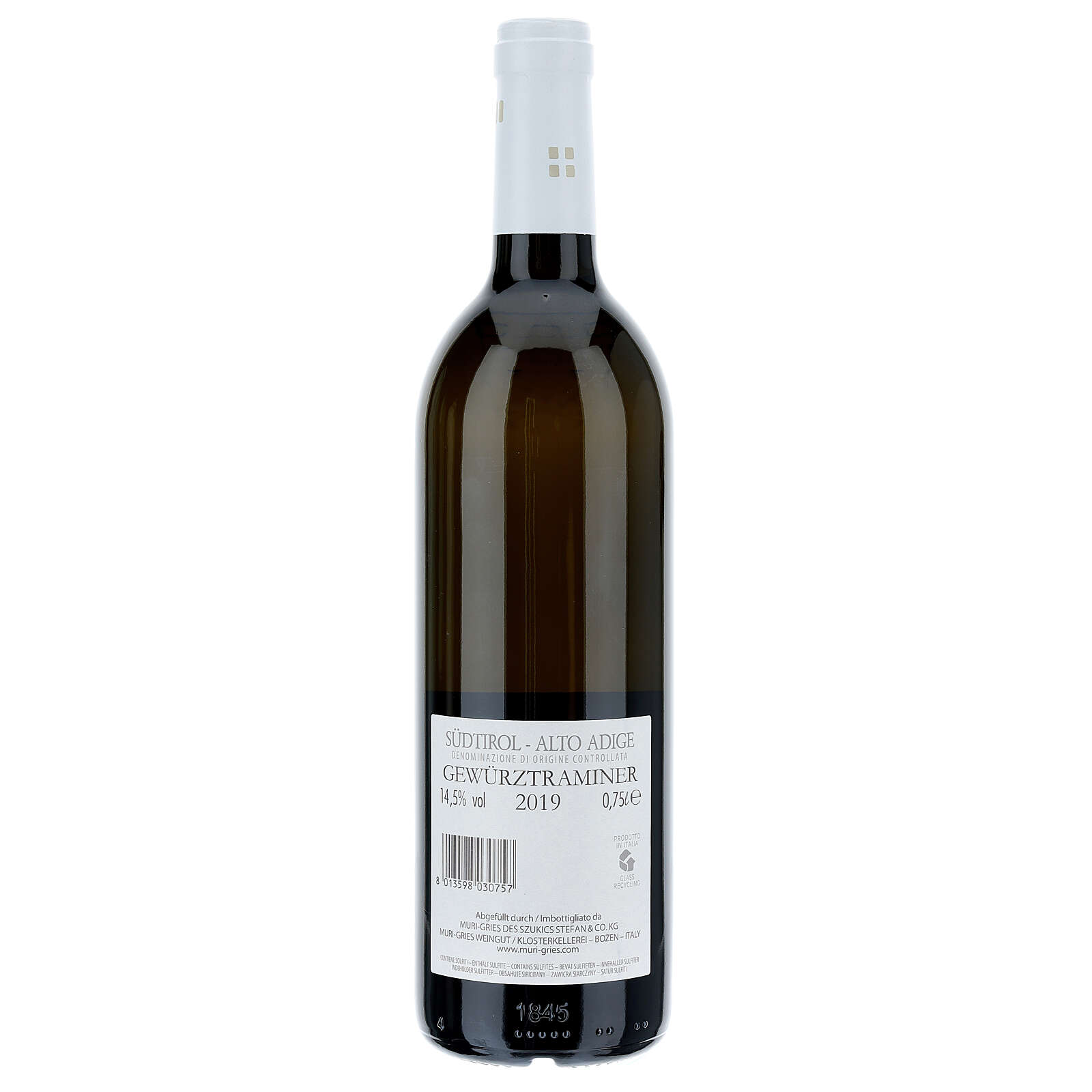 Gewürztraminer DOC 2019, Abbazia Muri Gries 750 ml 3