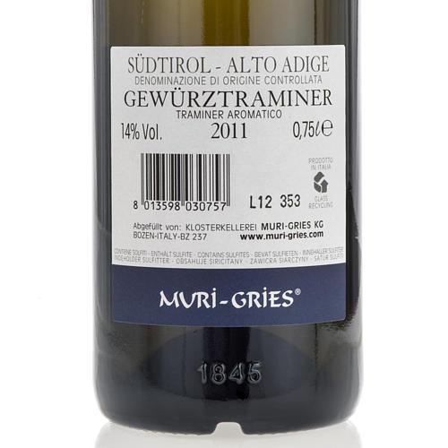 Traminer Aromatico DOC 2011 Abbazia Muri Gries 750 ml 2