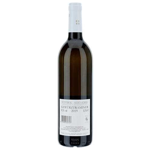 Traminer Aromatico DOC 2019 Abbazia Muri Gries 750 ml 2
