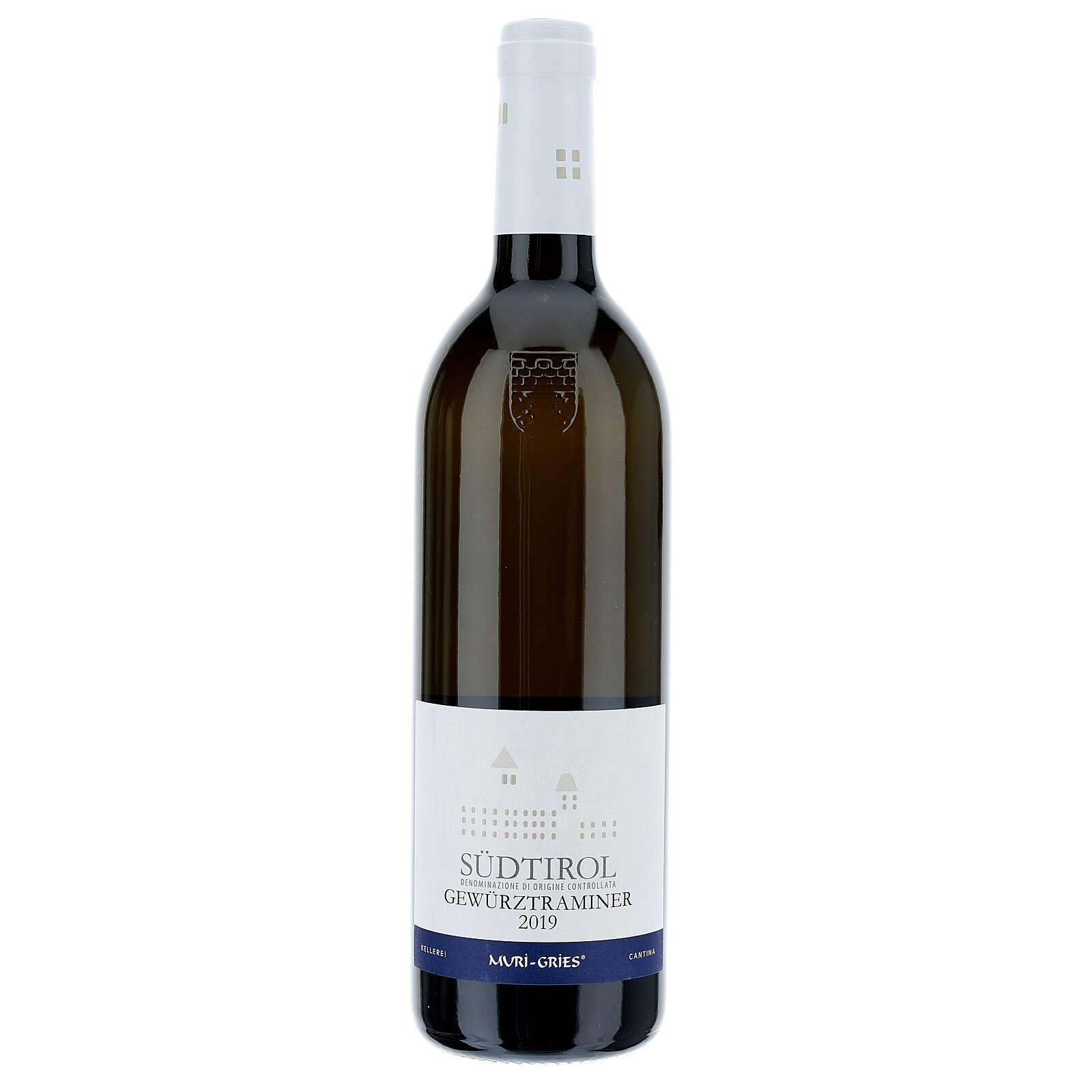 Vinho Traminer Aromático DOC 2019 Abadia Muri Gries 750 ml 3