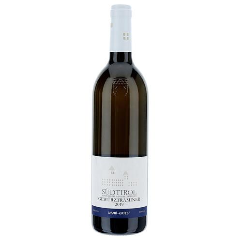 Vinho Traminer Aromático DOC 2019 Abadia Muri Gries 750 ml 1