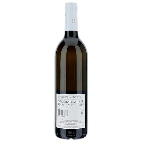 Vinho Traminer Aromático DOC 2019 Abadia Muri Gries 750 ml 2