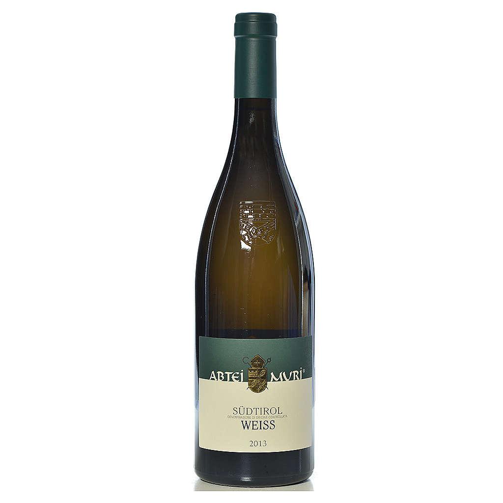 Vino Weiss bianco DOC 2013 Abbazia Muri Gries 750 ml 3