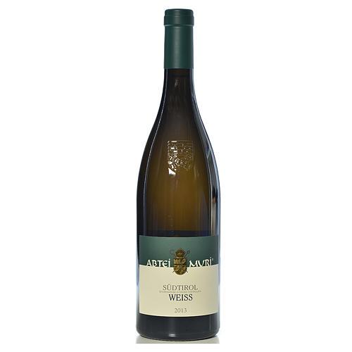 Vino Weiss bianco DOC 2013 Abbazia Muri Gries 750 ml 1
