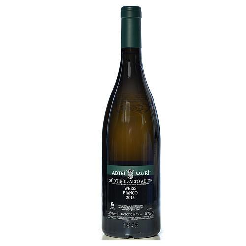 Vino Weiss bianco DOC 2013 Abbazia Muri Gries 750 ml 2