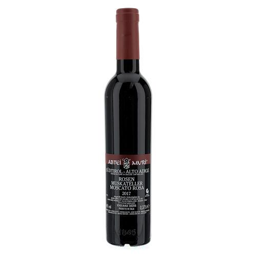 Vin Moscato rosé 2017 Abbaye Muri Gries 375 ml 3