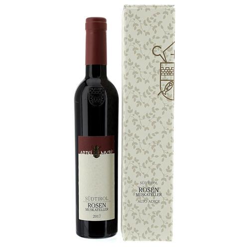 Vino Moscato rosa DOC 2017 Abbazia Muri Gries 375 ml 2