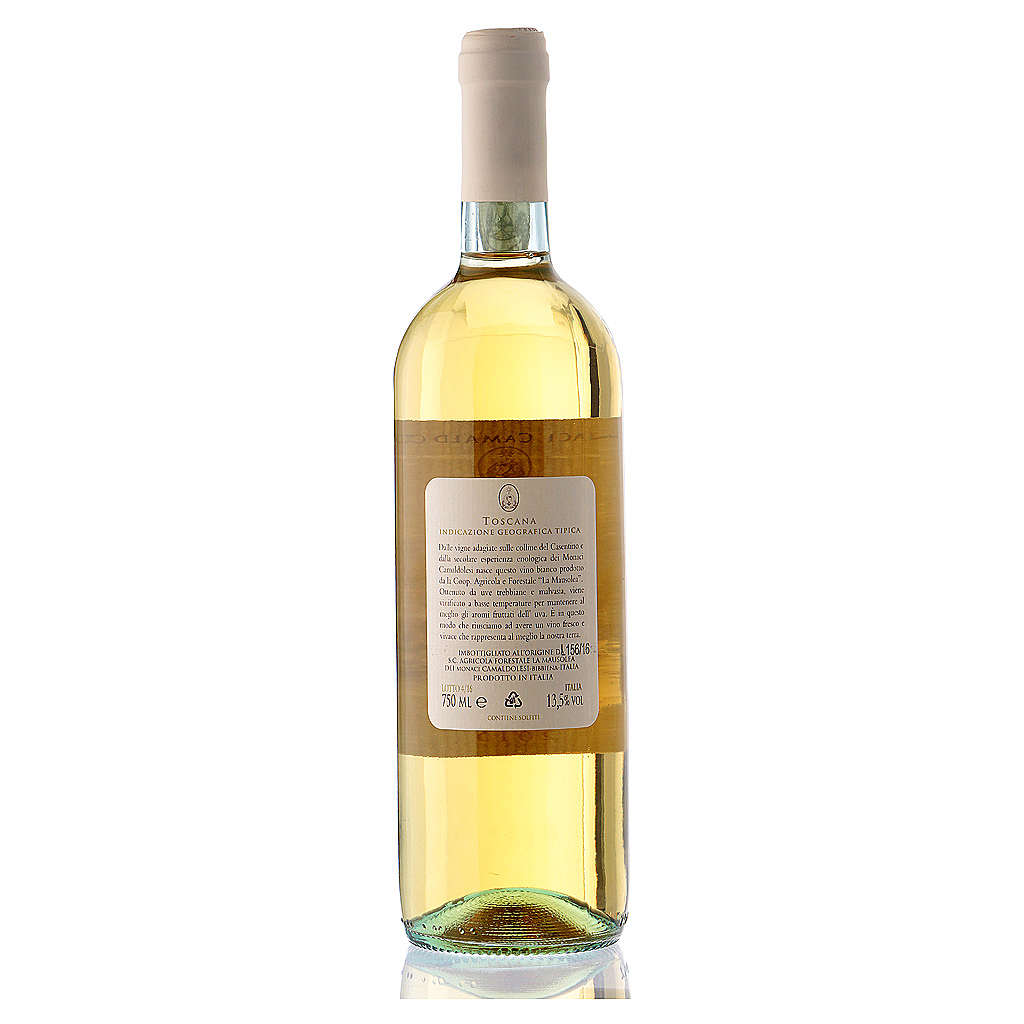 Vino bianco toscano Borbotto 750 ml. 2015 3