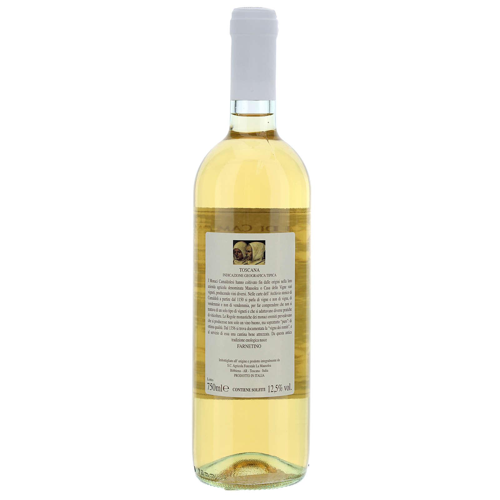 Vino bianco toscano Borbotto 750 ml. 2017 3