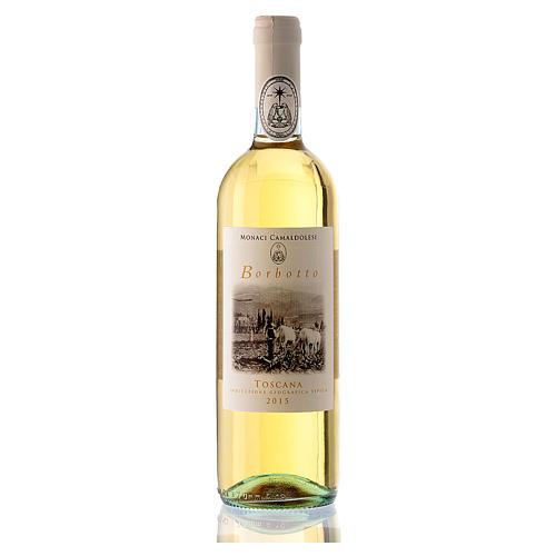 Vino bianco toscano Borbotto 750 ml. 2015 1