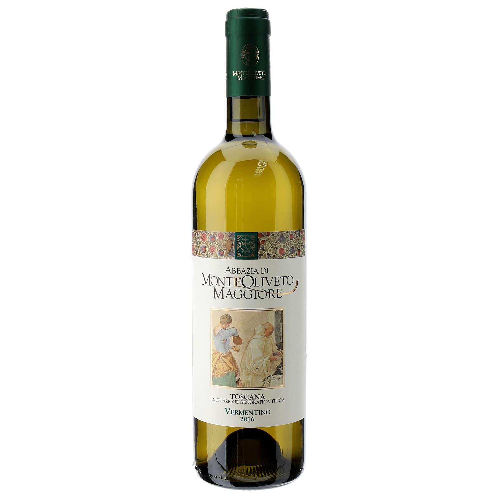 Vino Toscana blanco 2016 Abbazia Monte Oliveto 750ml 3