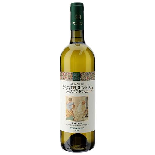 Vino Toscana blanco 2016 Abbazia Monte Oliveto 750ml 1