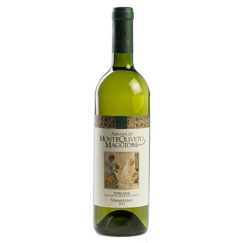 Vino Toscana Bianco 2011 Abbazia Monte Oliveto 750 ml 1