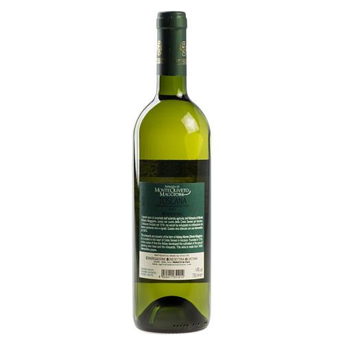Vino Toscana Bianco 2011 Abbazia Monte Oliveto 750 ml 2