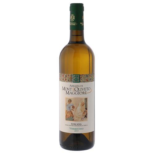 Vino Toscana Bianco 2017 Abbazia Monte Oliveto 750 ml 1