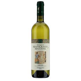 Wino Toscana Bianco 2019 Abbazia Monte Oliveto 750 ml s1
