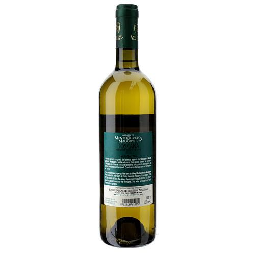Wino Toscana Bianco 2016 Abbazia Monte Oliveto 750 ml 2