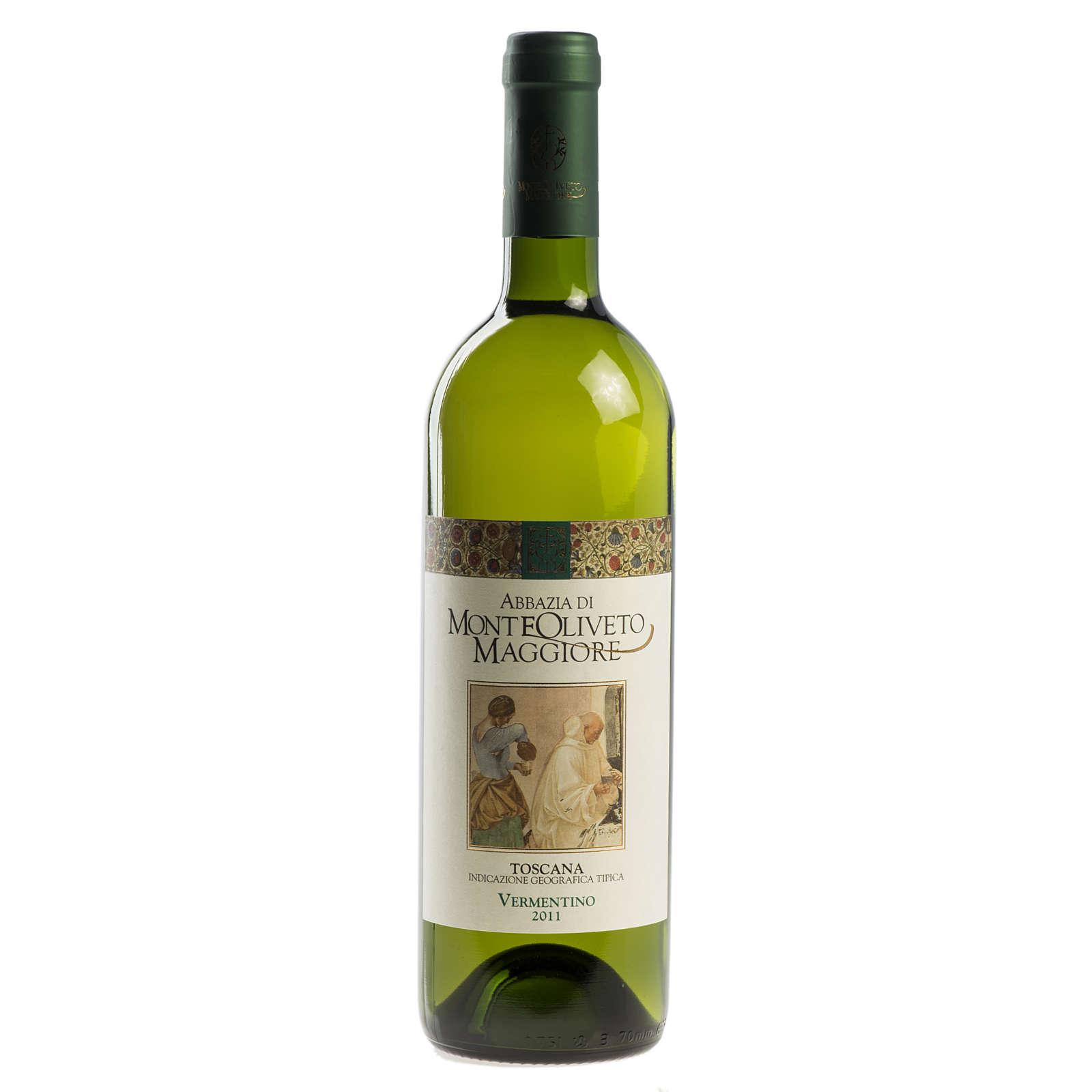 Tuscan white wine IGT 2011, Abbazia Monte Olivieto 750 ml 3