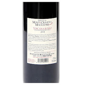 Vino Toscana Rosso 2014 Abbazia Monte Oliveto 750 ml s2
