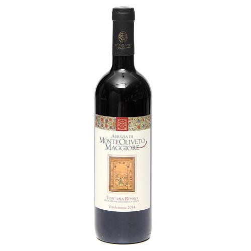 Vino Toscana Rosso 2014 Abbazia Monte Oliveto 750 ml 1