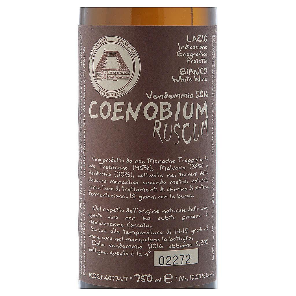 Vino Coenobium Ruscum bianco Vitorchiano 750 ml vend 2016 3