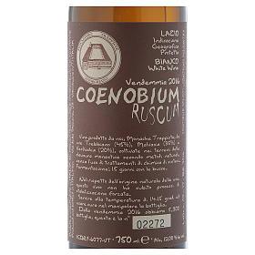 Vino Coenobium Ruscum bianco Vitorchiano 750 ml vend 2016 s2