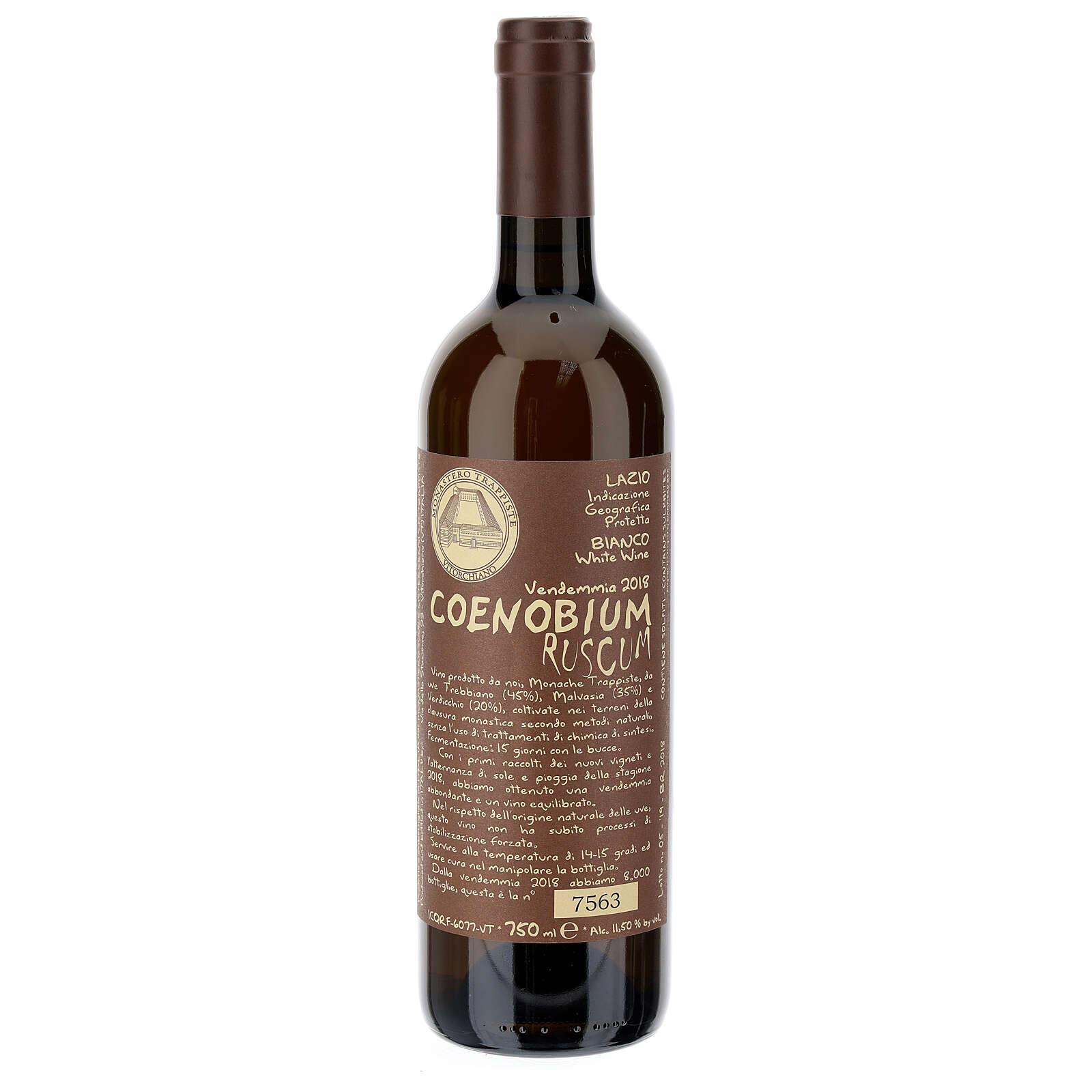 Vitorchiano Coenobium Ruscum 2018 white wine 750ml 3