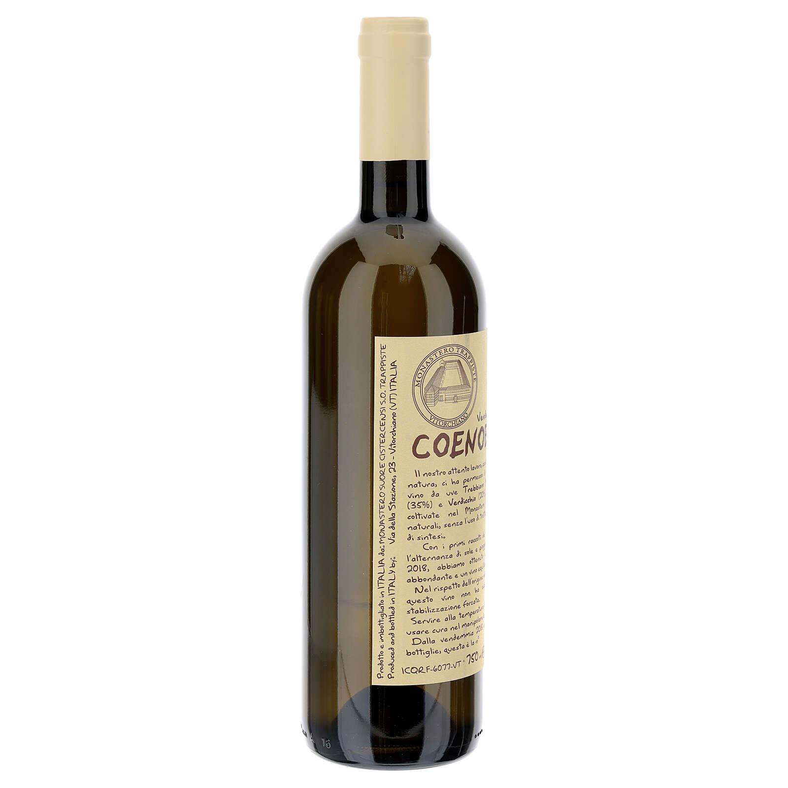 Vino Coenobium blanco Vitorchiano 750 ml  vendimia 2018 3
