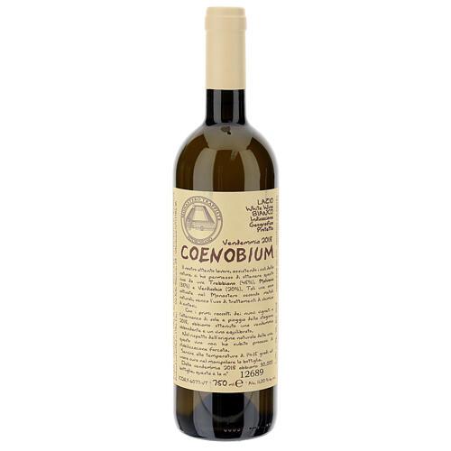 Vino Coenobium blanco Vitorchiano 750 ml  vendimia 2018 1