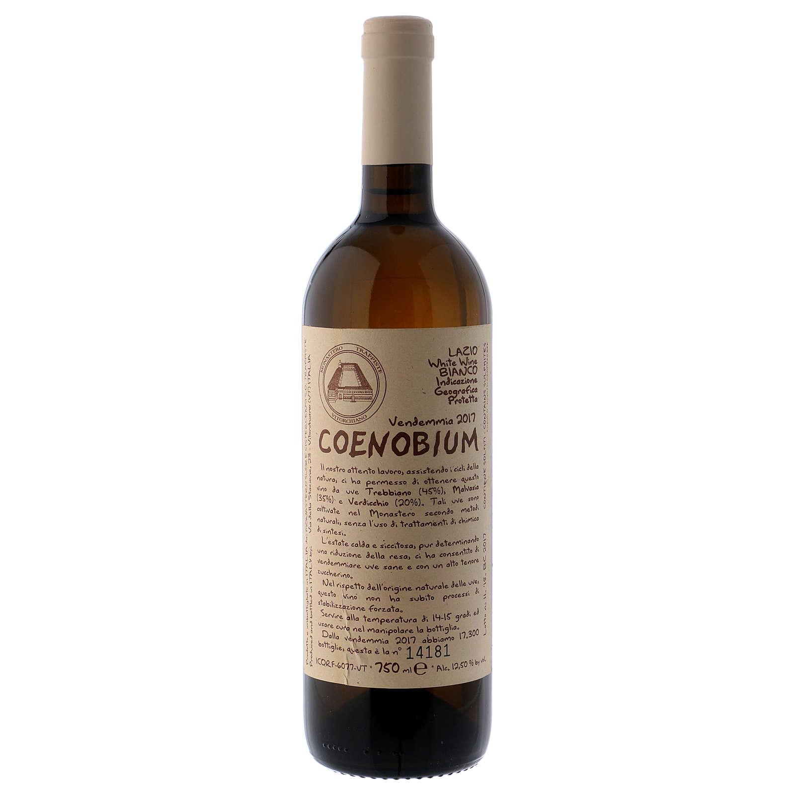 Vino Coenobium bianco Vitorchiano 750 ml vendemmia 2016 3