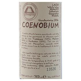 Vino Coenobium bianco Vitorchiano 750 ml vendemmia 2016 s2