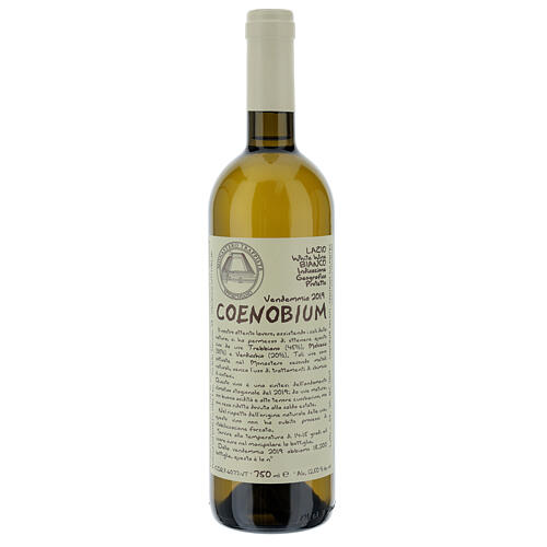 Vino Coenobium bianco Vitorchiano 750 ml vendemmia 2019 1
