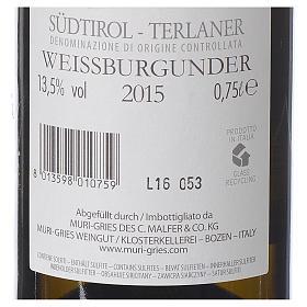 Vin Pinot Blanc de Terlano DOC 2015 Abbaye Muri Gries 750ml s2