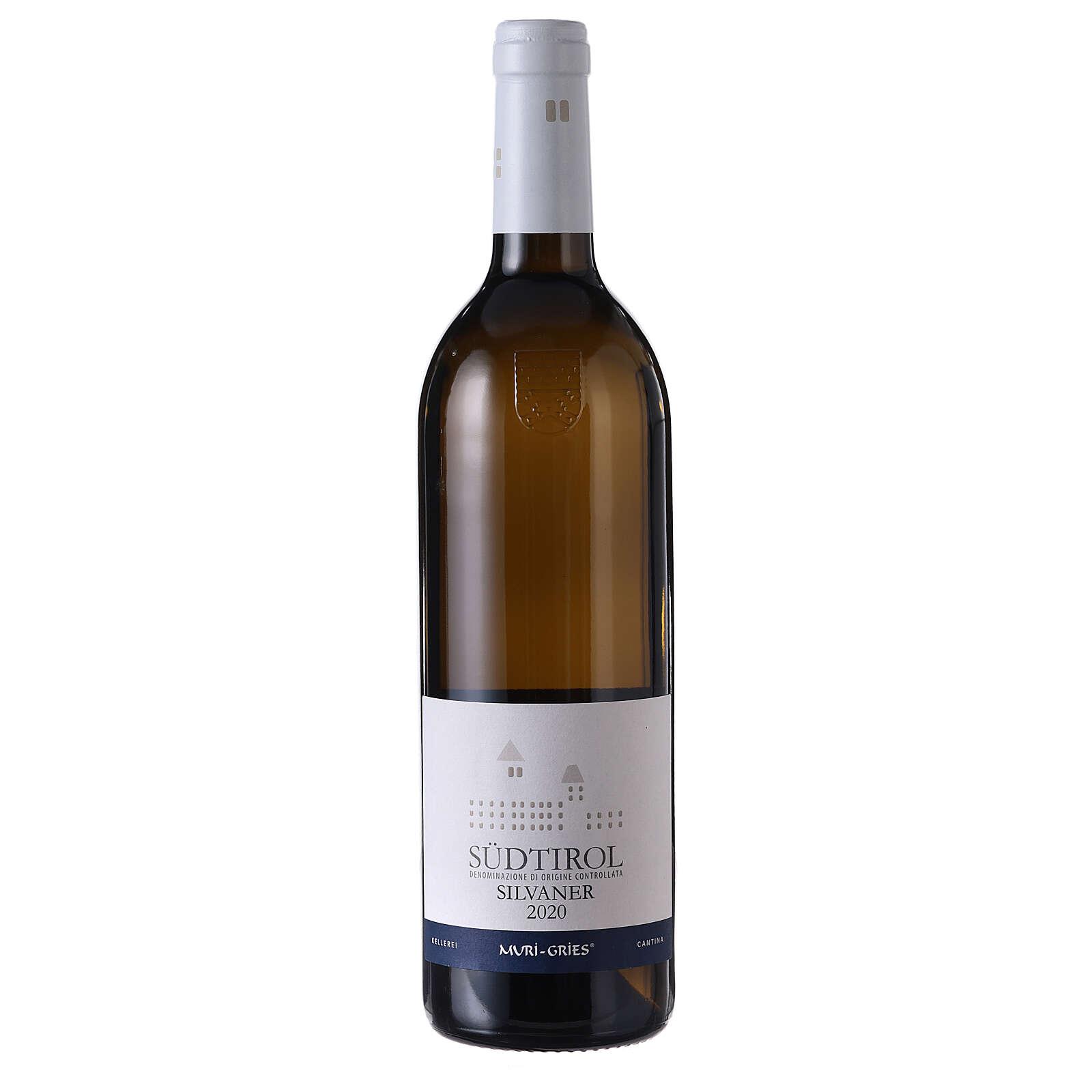 Vino Silvaner DOC 2020 Abadía Muri Gries 750 ml 3
