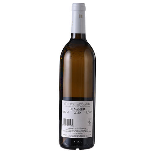 Vino Silvaner DOC 2020 Abadía Muri Gries 750 ml 2