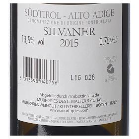 Vino Silvaner DOC 2015 Abbazia Muri Gries 750 ml s2