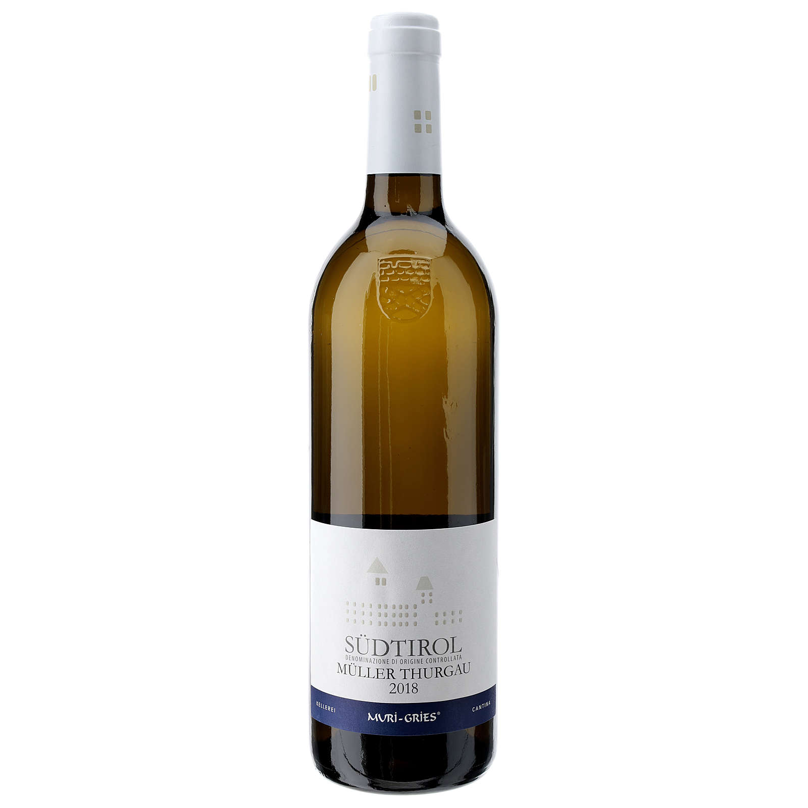 Muller Thurgau DOC white wine Muri Gries Abbey 2018 3