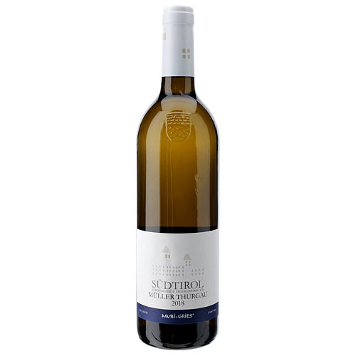 Muller Thurgau DOC white wine Muri Gries Abbey 2018 1