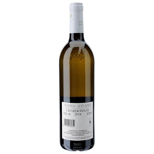 Chardonnay DOC white wine Muri Gries Abbey 2018 2