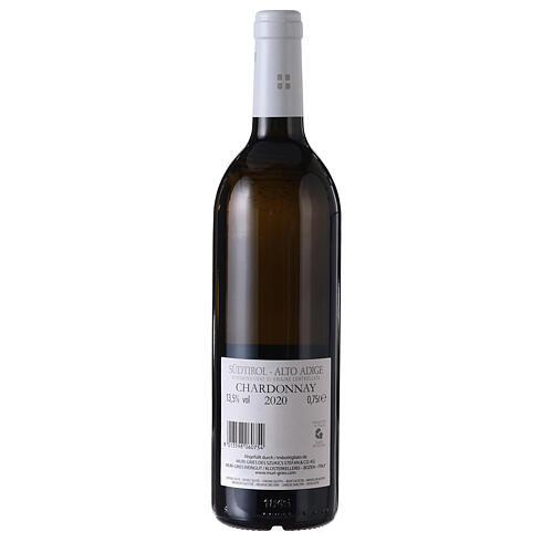 Chardonnay DOC white wine Muri Gries Abbey 2020 2