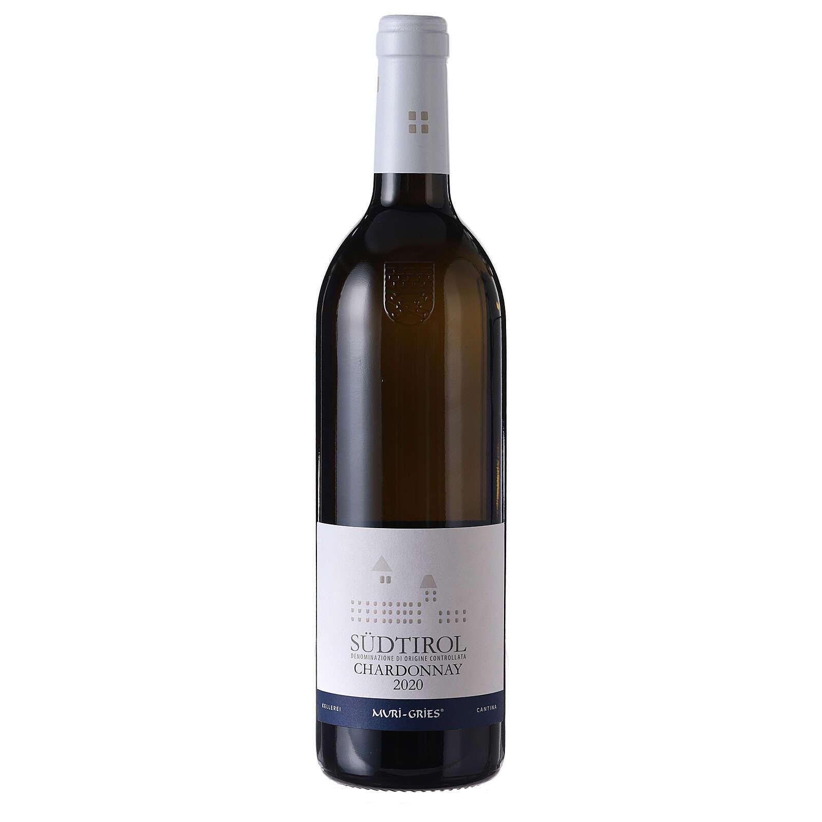 Vino Chardonnay DOC 2020 Abbazia Muri Gries 750 ml 3