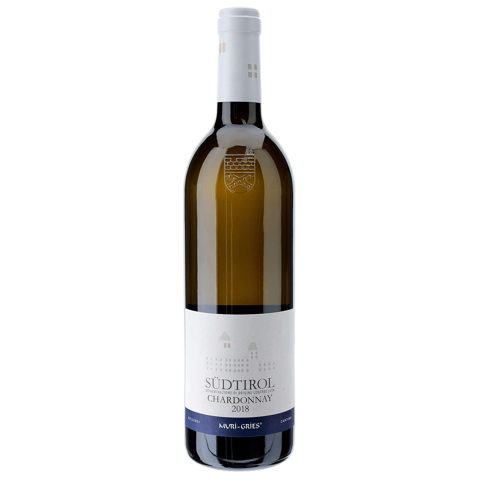 Wino Chardonnay DOC 2018 Opactwo Muri Gries 750ml 3