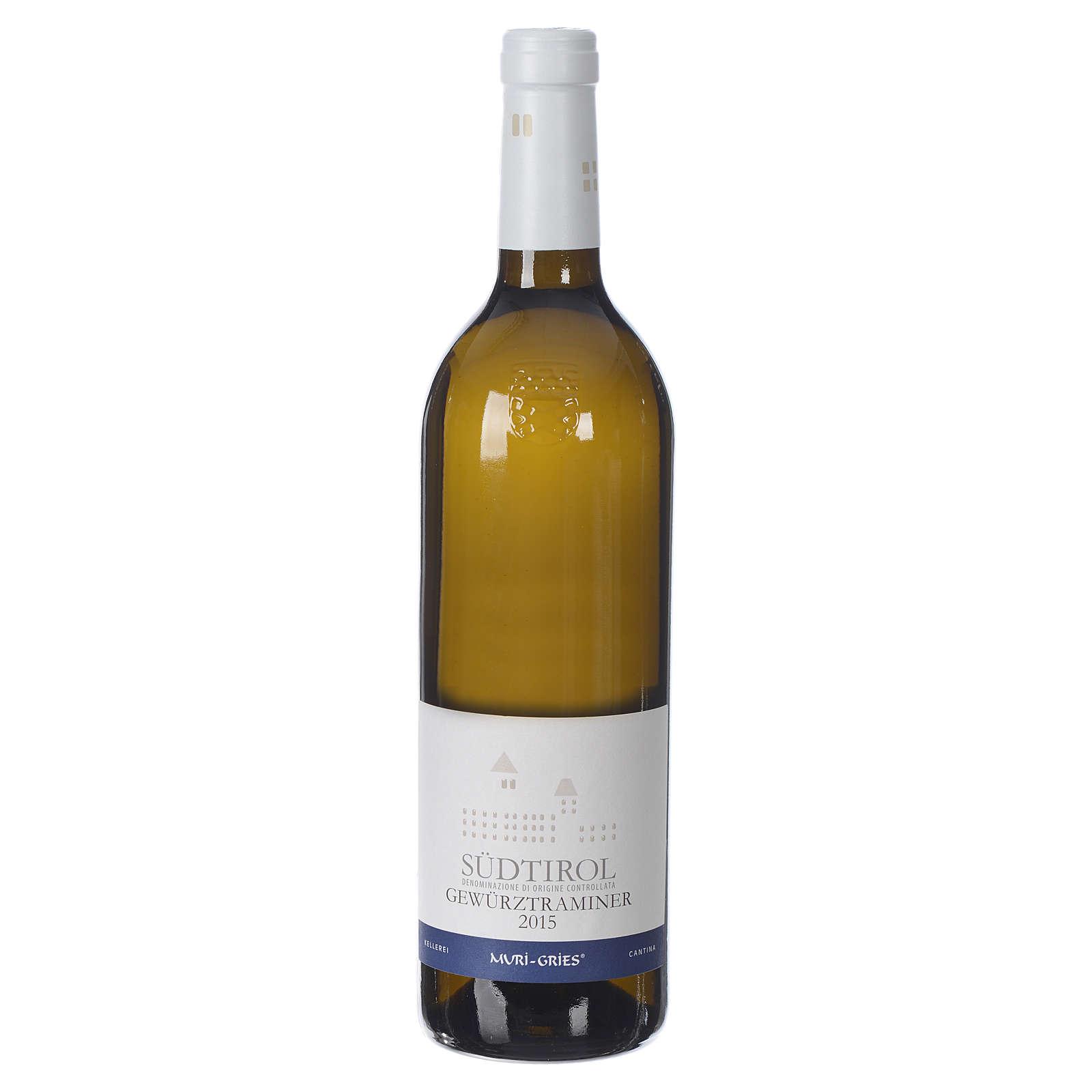 Vinho Traminer Aromático DOC 2015 Abadia Muri Gries 750 ml 3